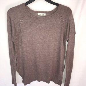 tan / brown sweater